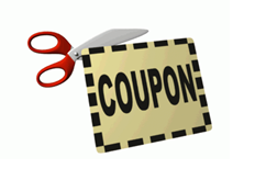 Stock up on nonperishable items and make use of coupons