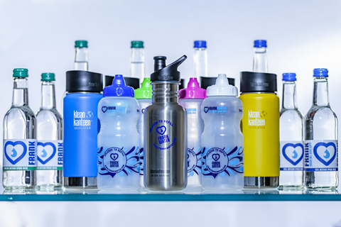 Switch to refillable water bottles